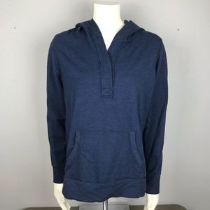 Lucy Navy Hoodie Large